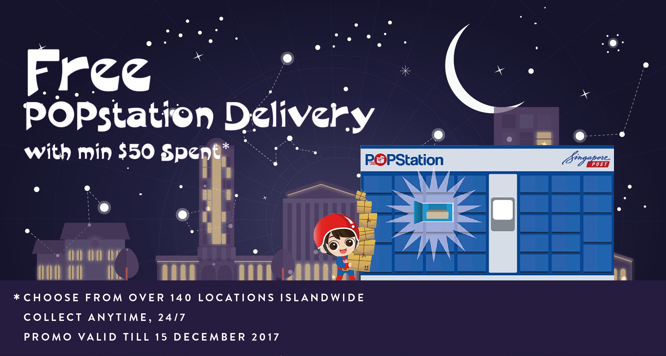 Free POPstation Delivery This Christmas !
