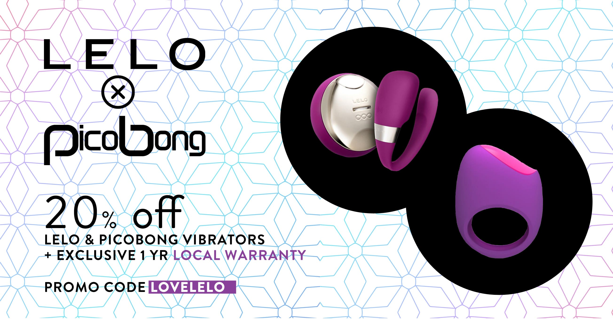 Buy LELO & PICOBONG at 20% OFF