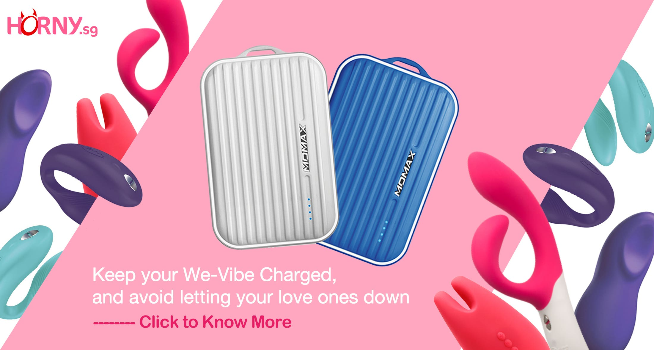 Free Powerbank for We-vibe Sync Purchases