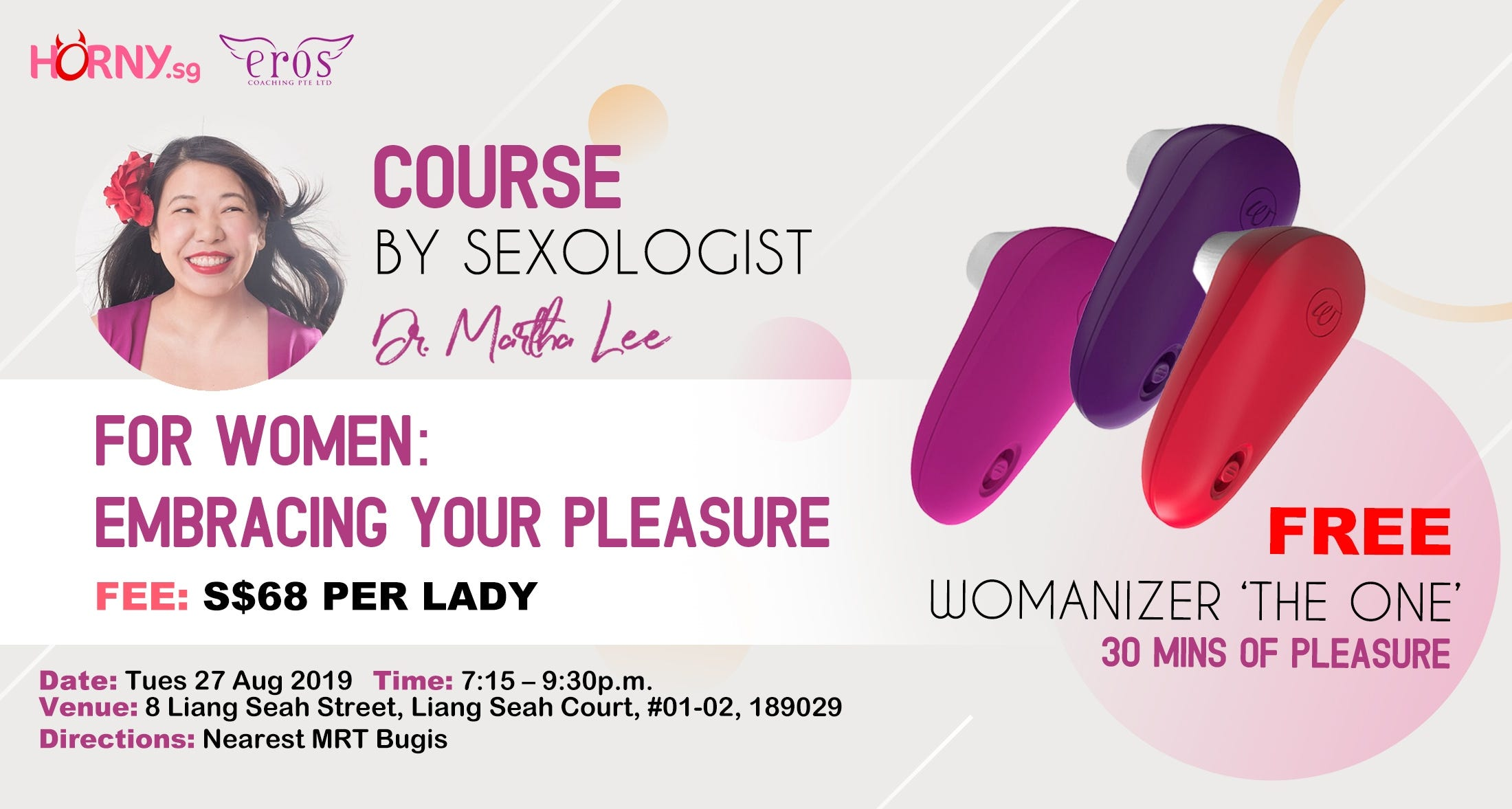 course by sexologist