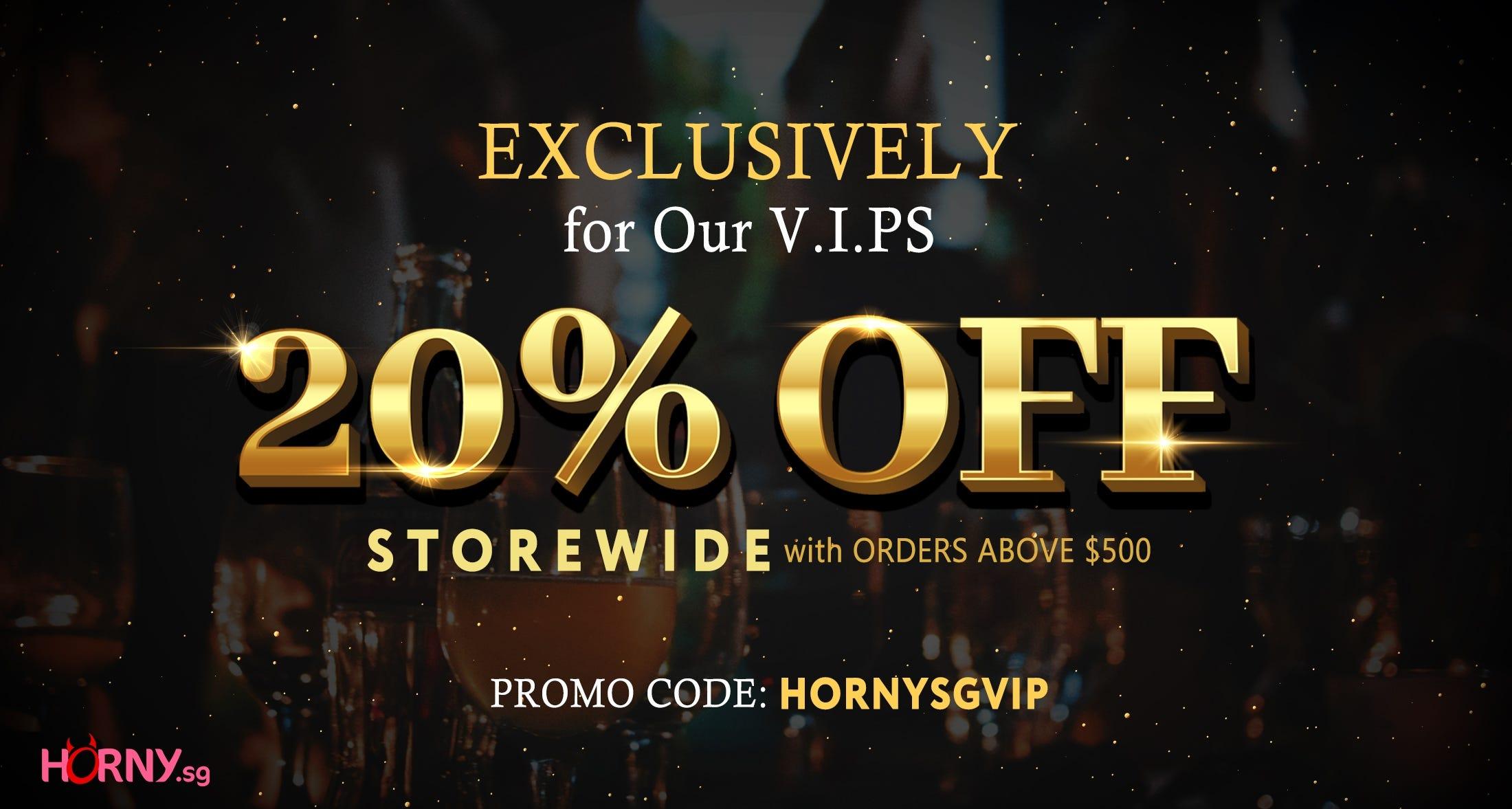 Horny VIP