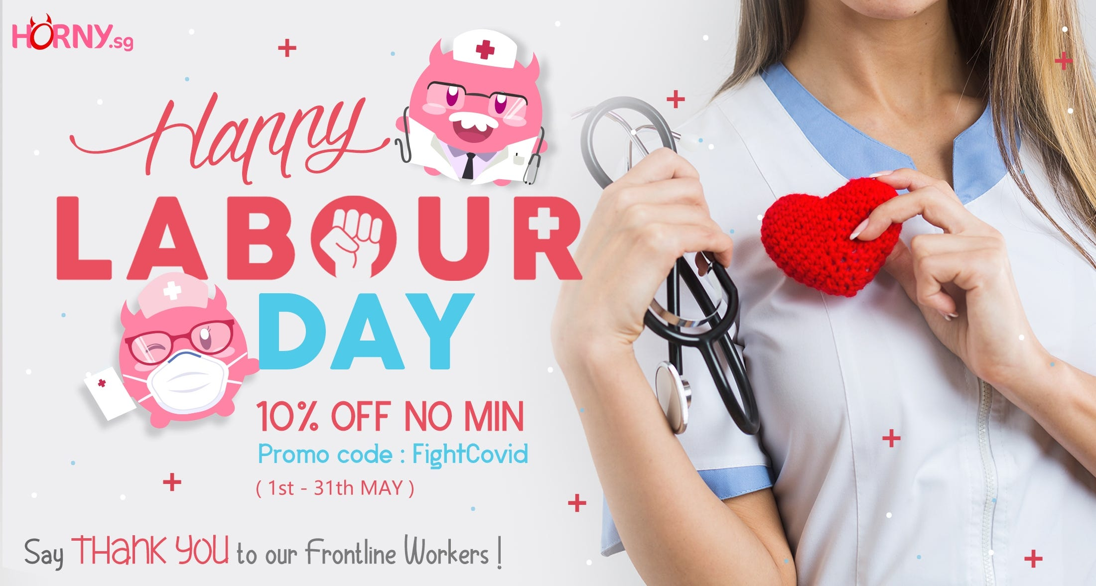 Say Thankyou to Frontline Workers