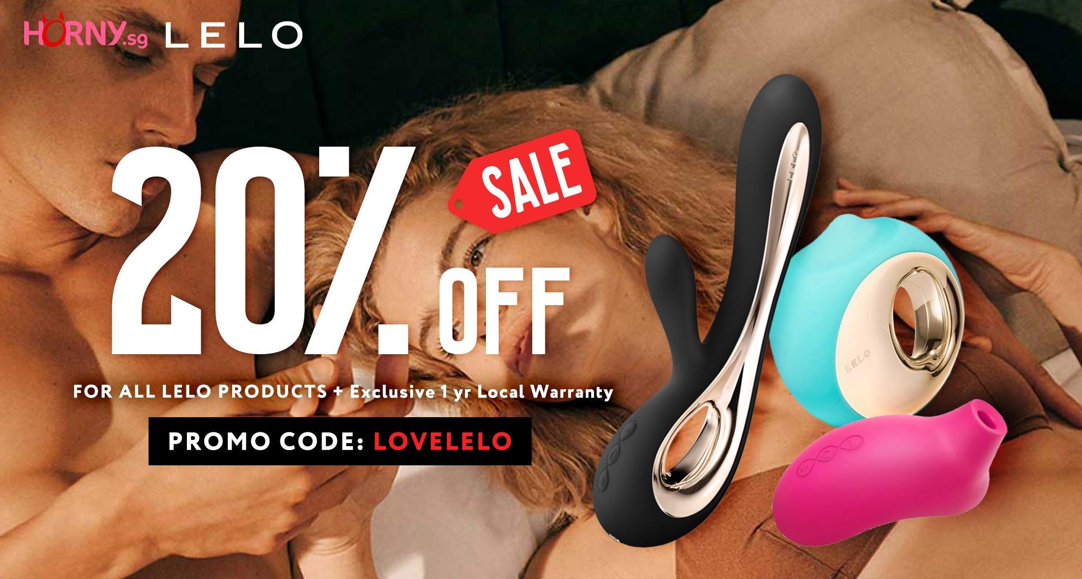 LELO 20% OFF End of Season Sales