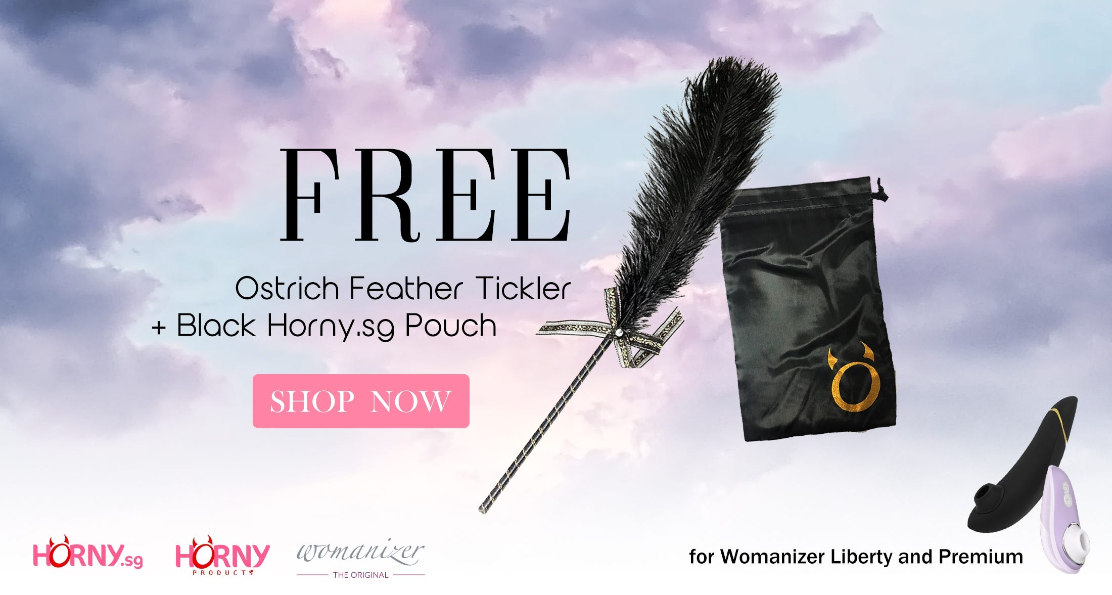 Free Ostrich Feather this Black Friday!